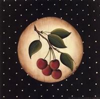4 Cherries Framed Print