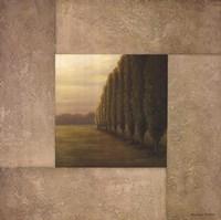English Garden II Framed Print