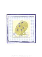 Frog with Plaid (PP) IV Framed Print