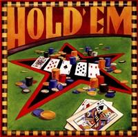 Hold 'em Poker Framed Print