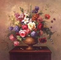 Heirloom Bouquet I Framed Print