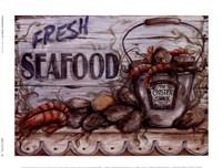Fisherman's Catch IV Framed Print