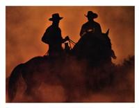 Knight Riders Framed Print