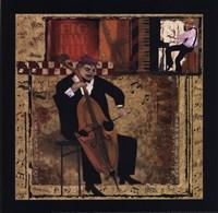 Jazz Cello - Petite Framed Print