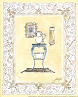 Toilette III Framed Print