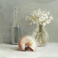 White Flower Spa Framed Print