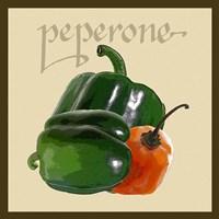 Italian Vegetable IV Framed Print