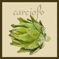 Italian Vegetable VIII Framed Print
