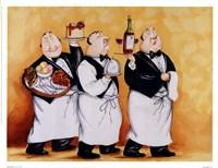 Haute Cuisine II Framed Print