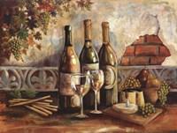 Bountiful Wine I Framed Print