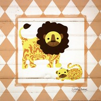 Lions Framed Print