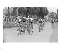 Tour de france 1966 Framed Print