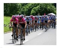 Tour de France 2005 Framed Print