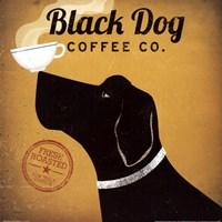 Black Dog Coffee Co Framed Print