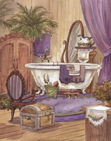Victorian Bathroom I Framed Print