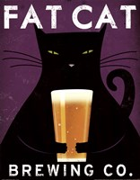 Cat Brewing no City Framed Print