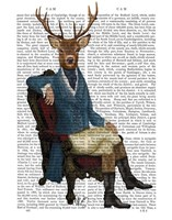 Distinguished Deer Full Framed Print