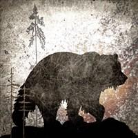 Calling Bear Framed Print