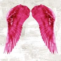 Angel Wings III Framed Print