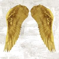 Angel Wings IV Framed Print