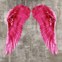 Angel Wings VI Framed Print